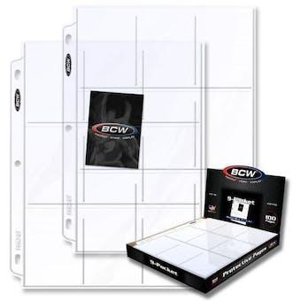 BCW Pro 9-Pocket Page (100 Ct. Box)