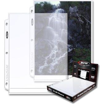 BCW Pro 8x10 Photo Page (100ct. Box)
