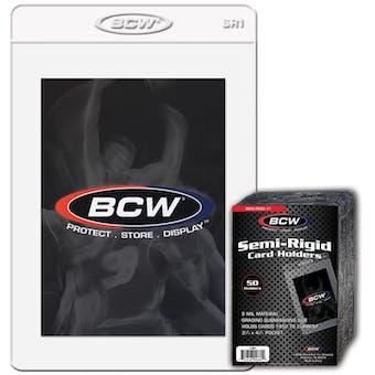 BCW Semi-Rigid Card Holder (50 Ct.)