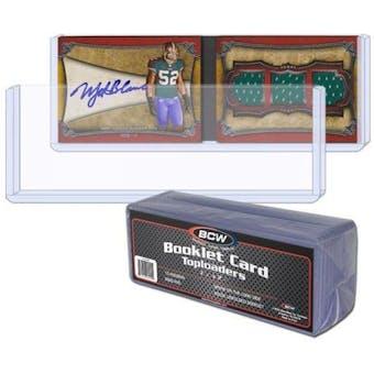BCW Booklet Card Toploader