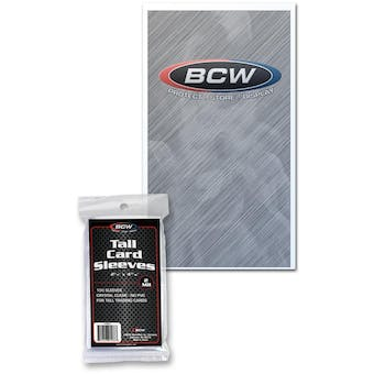 BCW Tall Trading Card Sleeves