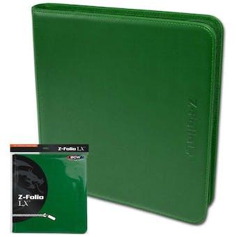BCW Z-Folio 12-Pocket LX Album - Green