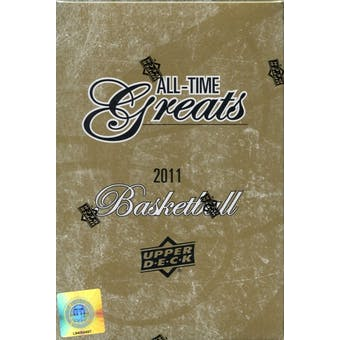 2011/12 Upper Deck All Time Greats Basketball Hobby Box