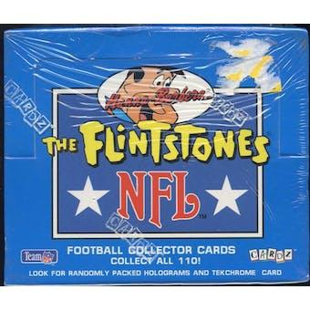 Flintstones NFL Hobby Box (1993 Hanna-Barbera)
