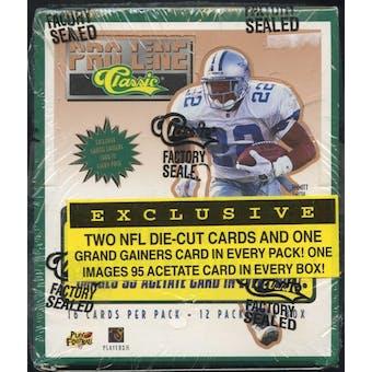 1995 Classic Pro Line Football 12-Pack Box