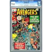 Avengers #76 CGC 9.6 Oakland Pedigree (OW-W) *1001271006*