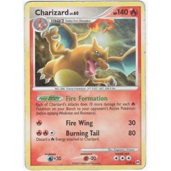 Pokemon Arceus Single Charizard lv. 60 1/99 - MODERATE PLAY (MP)