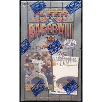 1996 Fleer Update Baseball Retail Box