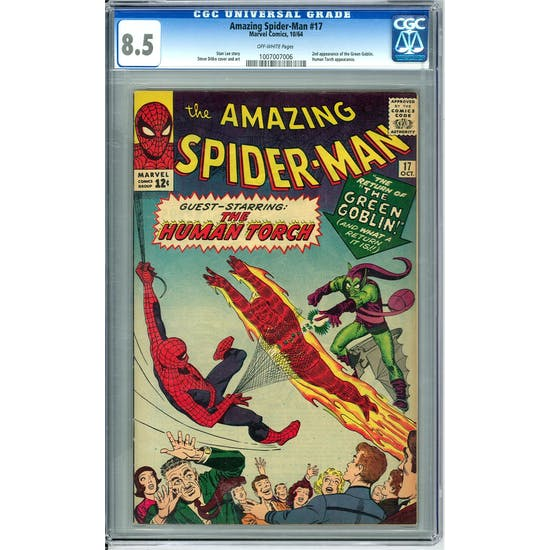 Amazing Spider-Man #17 CGC 8.5 (OW) *1007007006*
