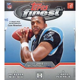 2011 Topps Finest Football Hobby Box