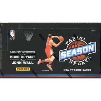 2010/11 Panini Season Update Basketball Hobby Box