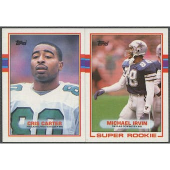 1989 Topps Football Complete Set (NM-MT) With Traded Set