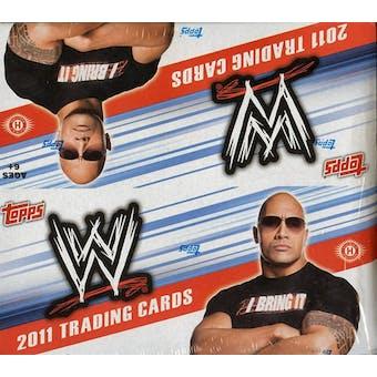 2011 Topps WWE Wrestling Hobby Box