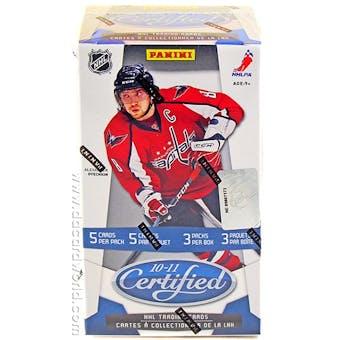 2010/11 Panini Certified Hockey 3-Pack Box