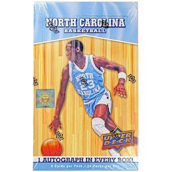 2010/11 Upper Deck North Carolina Basketball Hobby Box