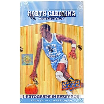 2010/11 Upper Deck North Carolina Basketball Hobby Box