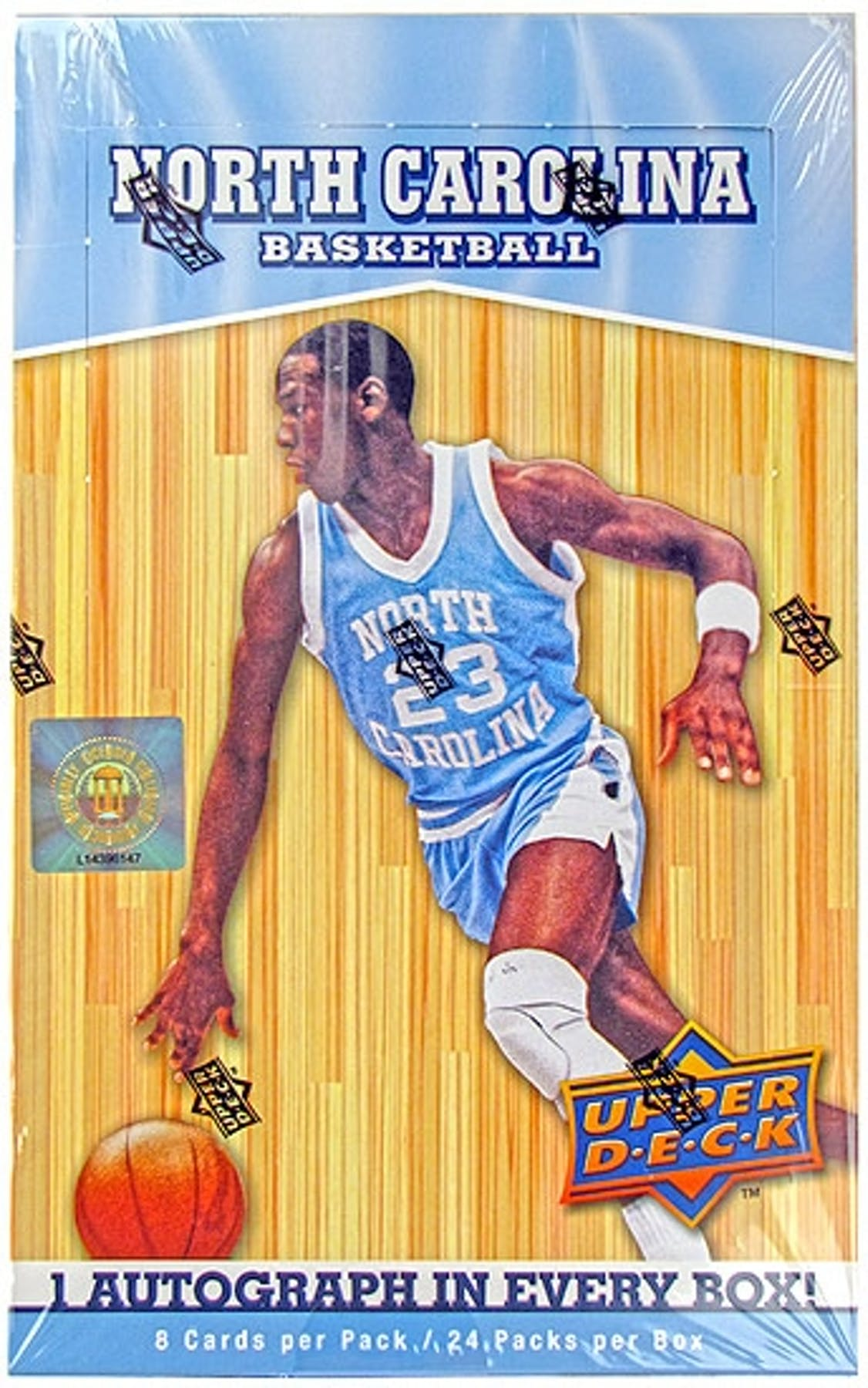 201011 Upper Deck North Carolina Basketball Hobby Box
