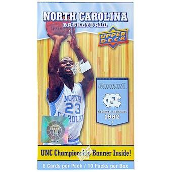 2010/11 Upper Deck North Carolina Basketball 10-Pack Blaster Box - Jordan !