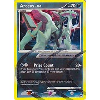 Pokemon Arceus Single Arceus lv. 100 AR1 - SLIGHT PLAY (SP)