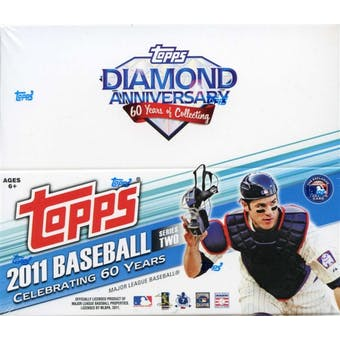 2011 Topps Series 2 Baseball 24-Pack Box