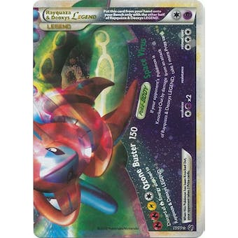 Pokemon Undaunted Single Rayquaza & Deoxys Legend (Bottom) 90/90 - MODERATE PLAY (MP)