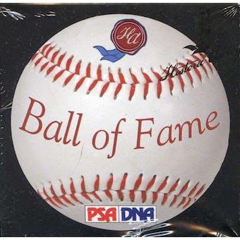 2011 Historic Autograph Ball of Fame Edition Baseball Hobby Box