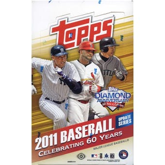 2011 Topps Updates & Highlights Baseball Hobby Box