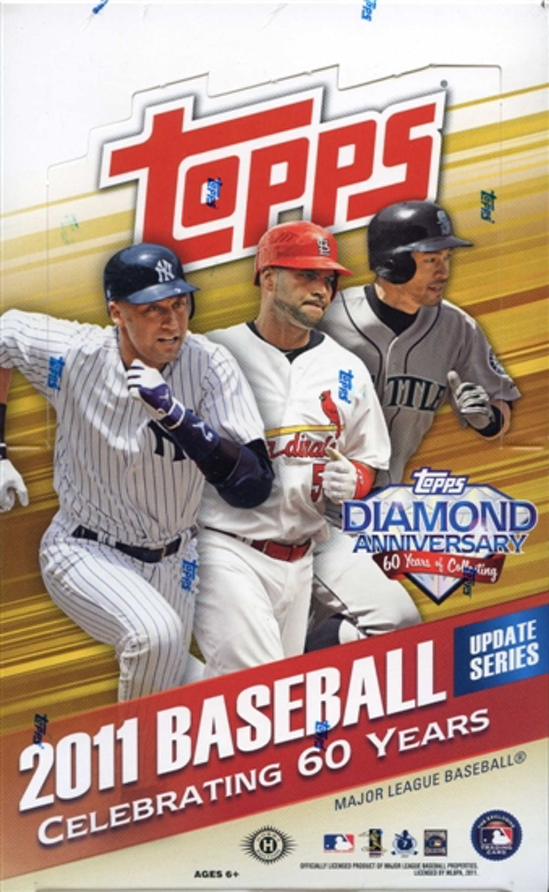2011 Topps Updates Highlights Baseball Hobby Box