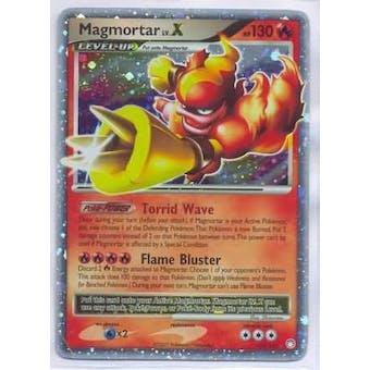 Pokemon Mysterious Treasures Single Magmortar lv. X 123/123