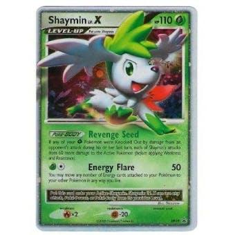 Pokemon Diamond & Pearl Single Shaymin lv. X DP39 Promo - SLIGHT PLAY (SP)