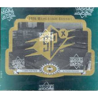 1996 Upper Deck SPx Baseball Hobby Box