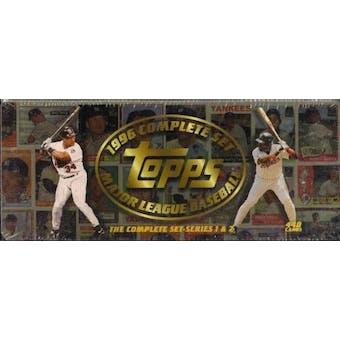 1996 Topps Baseball Retail Factory Set (Brown)
