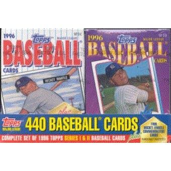 1996 Topps Cereal Box Baseball Factory Set (box)