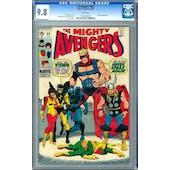 Avengers #68 CGC 9.8 (W) *1023206015*