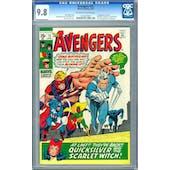 Avengers #75 CGC 9.8 (OW-W) *1023207003*