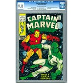 Captain Marvel #14 CGC 9.8 (W) *1023209006*