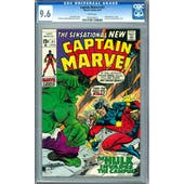 Captain Marvel #21 CGC 9.6 (W) *1023209012*
