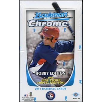 2011 Bowman Chrome Baseball Hobby Box