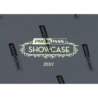 2011 Press Pass Showcase Racing Hobby Box