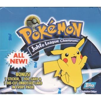 Pokemon TV Edition Johto League Champions Box (2001 Topps)