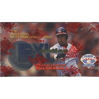 1996 Fleer Emotion X-L Baseball Hobby Box