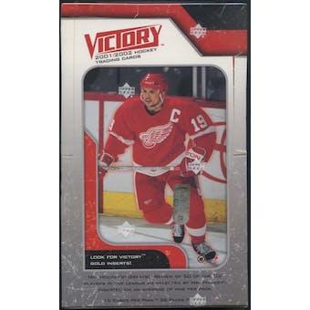 2001/02 Upper Deck Victory Hockey Hobby Box