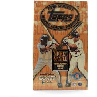 1996 Topps Series 1 Baseball Hobby Box