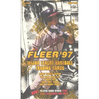 1997 Fleer Series 1 Baseball Hobby Box