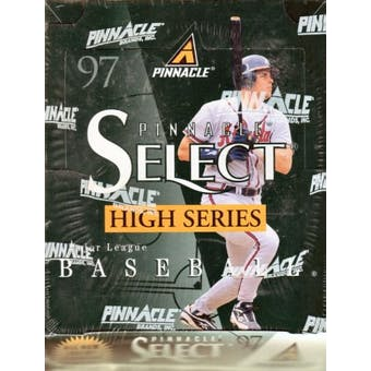 1997 Score Select High Number Baseball Hobby Box