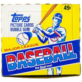 1983 Topps Baseball Cello Box