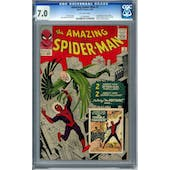 Amazing Spider-Man #2 CGC 7.0 (OW) *1030808001*