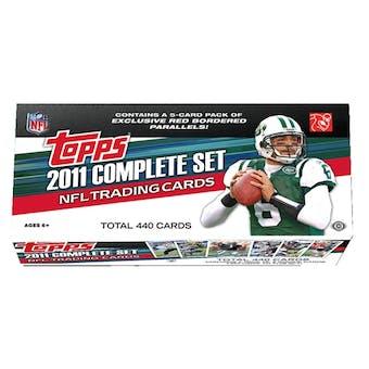 2011 Topps Factory Hobby Set Football (Box)