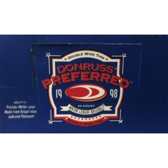 1998 Donruss Preferred Baseball Hobby Box