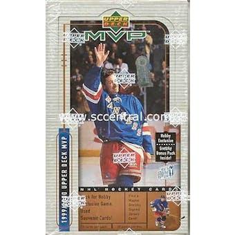 1999/00 Upper Deck MVP Hockey Hobby Box